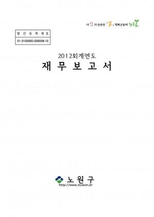 2013년 노원구 지방재정공시 재무보고서