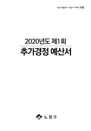2020년 제1회 추가경정예산서