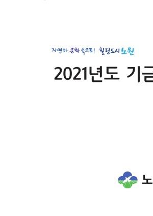 2021년 기금운용계획